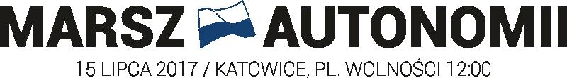 Marsz Autonomii 2017 - 15 lipca, 12:00 Katowice, pl. Wolności Logo